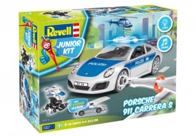 Revell Junior Kit Porsche 911 Carrera S Polizei