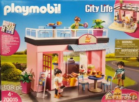 Playmobil City Life Mein Lieblingscafe