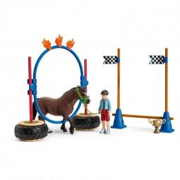 Schleich Farm World Pony Agility Rennen