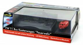 1:87 RC VW T1 Kasten Feuerwehr Licht & Sound