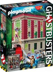 Ghostbuster Feuerwache Hauptquartier mit Spengler, Tully und Zubehör