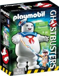 Ghostbusters Stay Puft Marshmallow Man und Stantz