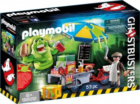 Ghostbusters Slimer und Hot Dog Stand