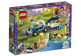 Lego Friends Stephanies Cabrio mit Anhänger