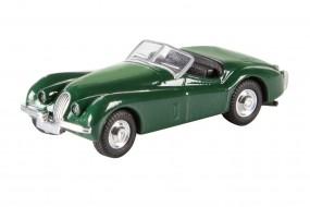 Jaguar XK 120, grün 1:87