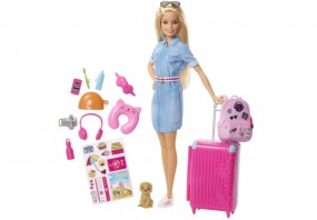 Mattel Barbie Dreamhouse Adventures Reise Barbie mit Zubehör
