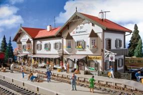 H0-Bahnhof Burghausen