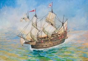 1:350 Spanisches Schiff San Martin