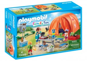 Playmobil Familien Camping