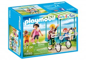 Playmobil Familien Fahrrad