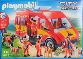 Playmobil Rettungshundestaffel-Fahrzeug mit Licht und Sound