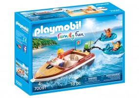 Playmobil Freizeit Sportboot